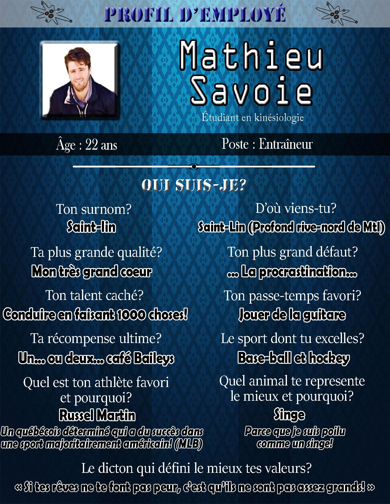Profil mathieu